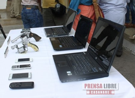Capturados delincuentes que robaron establecimiento comercial en Yopal