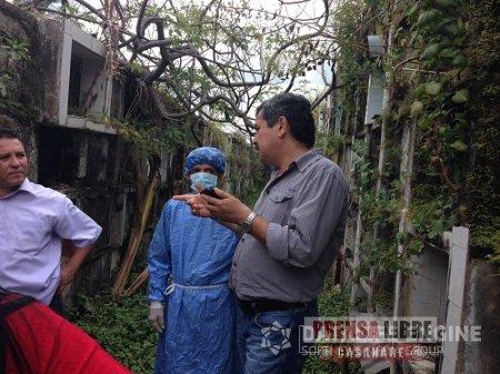 Vecinos de antiguo cementerio de Yopal molestos por quema de residuos