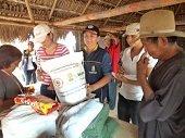 Gobernación entregó ayuda humanitaria a comunidad indígena
