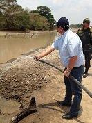 Gobernador de Casanare contradijo a la Ministra de Ambiente sobre proporciones de la emergencia en Paz de Ariporo