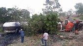 Nuevo derrame de crudo por accidente de carrotanque petrolero en Monterrey