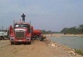 Un millón trescientos mil litros de agua se captaron del río Ariporo para atender emergencia por sequia