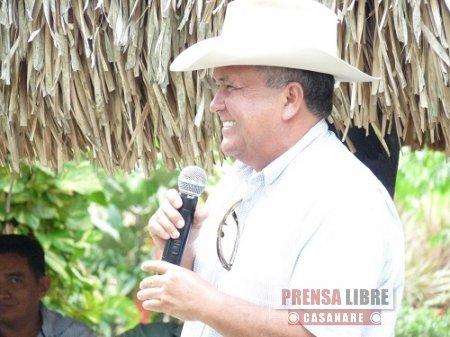 Bloque de Congresistas de la Orinoquia plante electo Senador Jorge Prieto