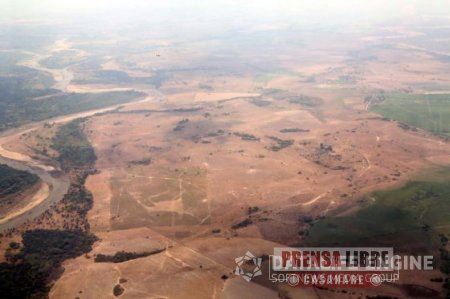 Ideam declaró alerta roja en siete departamentos por sequía incluido Casanare