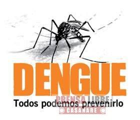 Aumentaron casos de dengue en Yopal en la última semana epidemiológica