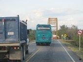 Atraco a  buseta de servicio público en el puente del rio Tacuya