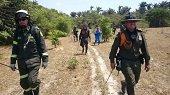 Policía continúa apoyando emergencia ambiental en Paz de Ariporo