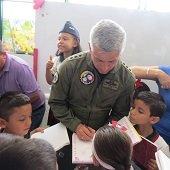 Comandante de la Fuerza Aérea cumplió intensa agenda en Yopal