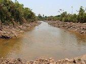 Corporinoquia inició caracterización del humedal afectado por vecinos en Punto Nuevo en Yopal