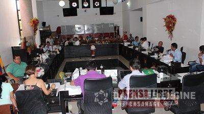 Concejales de Yopal reiteraron cuestionamientos a la administración Celemín
