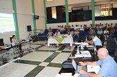 Invitados a la Asamblea Departamental directora de Corporinoquia, rectora de Unitrópico, Contralora y varios Secretarios