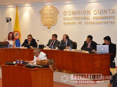 Directora de Corporinoquia intervino en Comisión Quinta de la Cámara de Representantes