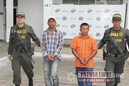 Capturados extorsionistas que exigían 200 millones de pesos