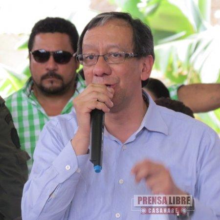 Procurador Carlos Mesa afirmó que investigaciones pronto determinarán que ha pasado con el agua en Yopal y  quienes son los responsables