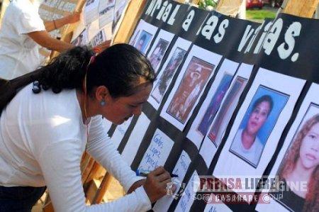 Homenaje a víctimas del conflicto armado en la Alcaldía de Aguazul