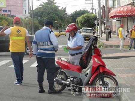 77 comparendos por infracciones se han impuesto esta semana en Yopal