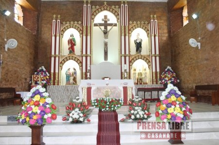 La Semana Santa se vive en Nunchía