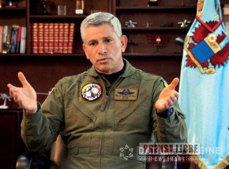 Hoy estará en Yopal el Comandante de la Fuerza Aérea