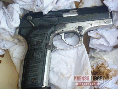 Incautado armamento presuntamente perteneciente a la banda criminal Libertadores del Vichada
